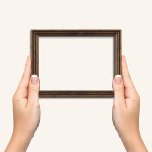 Antique-bronze-frame
