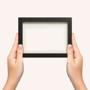 Black-photo-frame