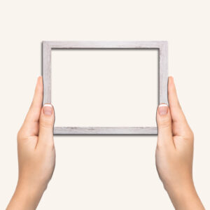 White-wash-photo-frame